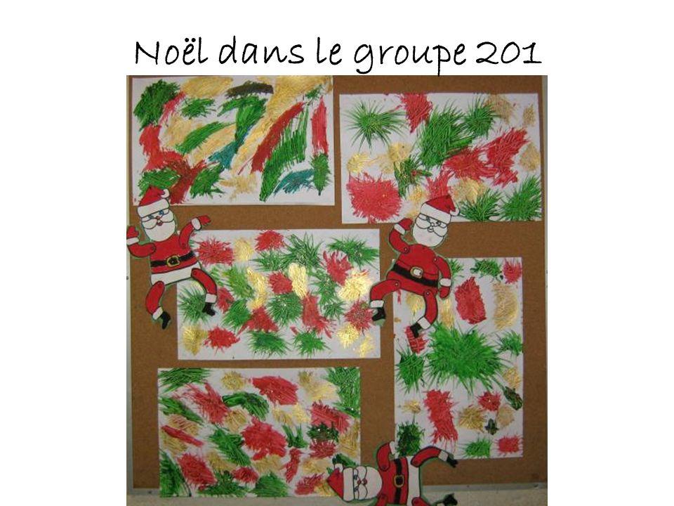 Noël dans le groupe 201