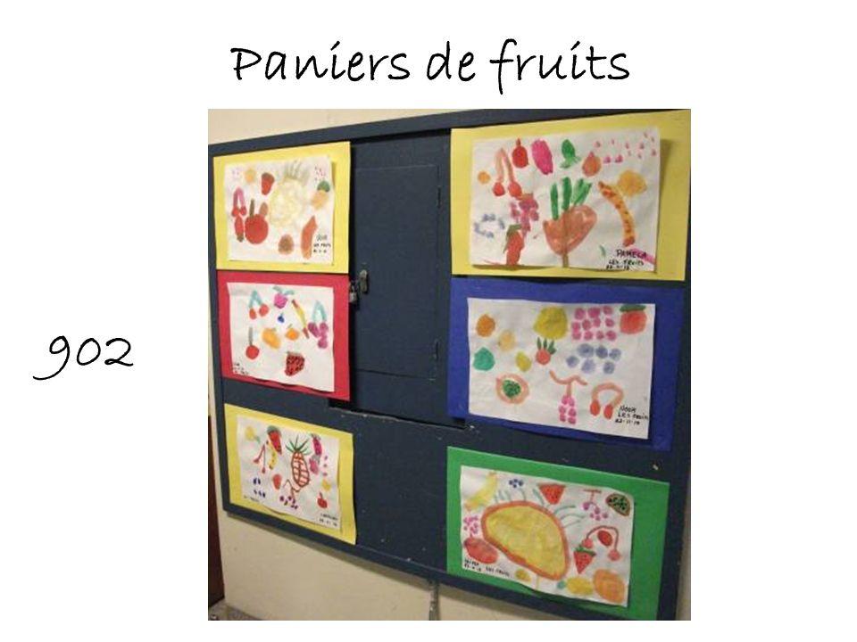 Paniers de fruits 902