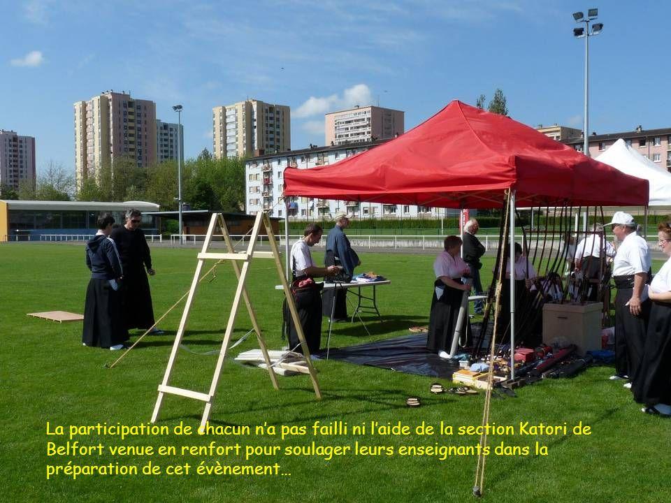La participation de chacun n'a pas failli ni l'aide de la section Katori de Belfort venue en renfort pour soulager leurs enseignants dans la