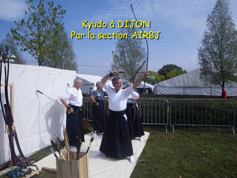 Kyudo à DIJON Par la section AIRBJ