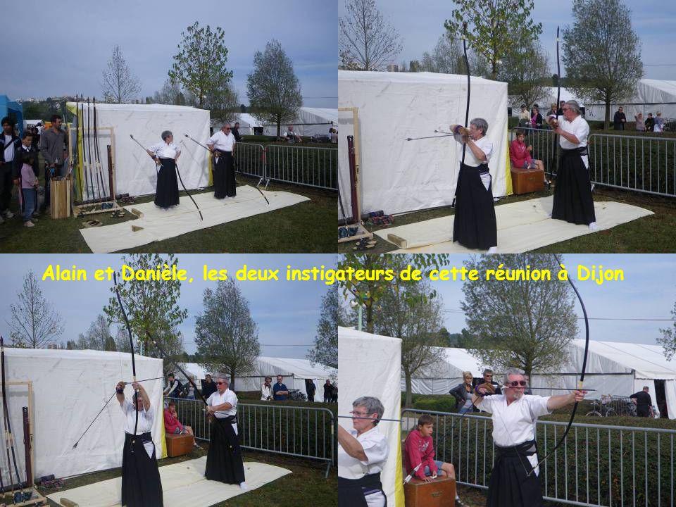 Alain et Danièle, les deux instigateurs de cette réunion à Dijon