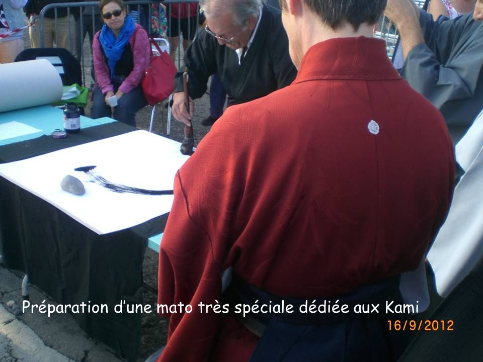 Préparation d'une mato très spéciale dédiée aux Kami