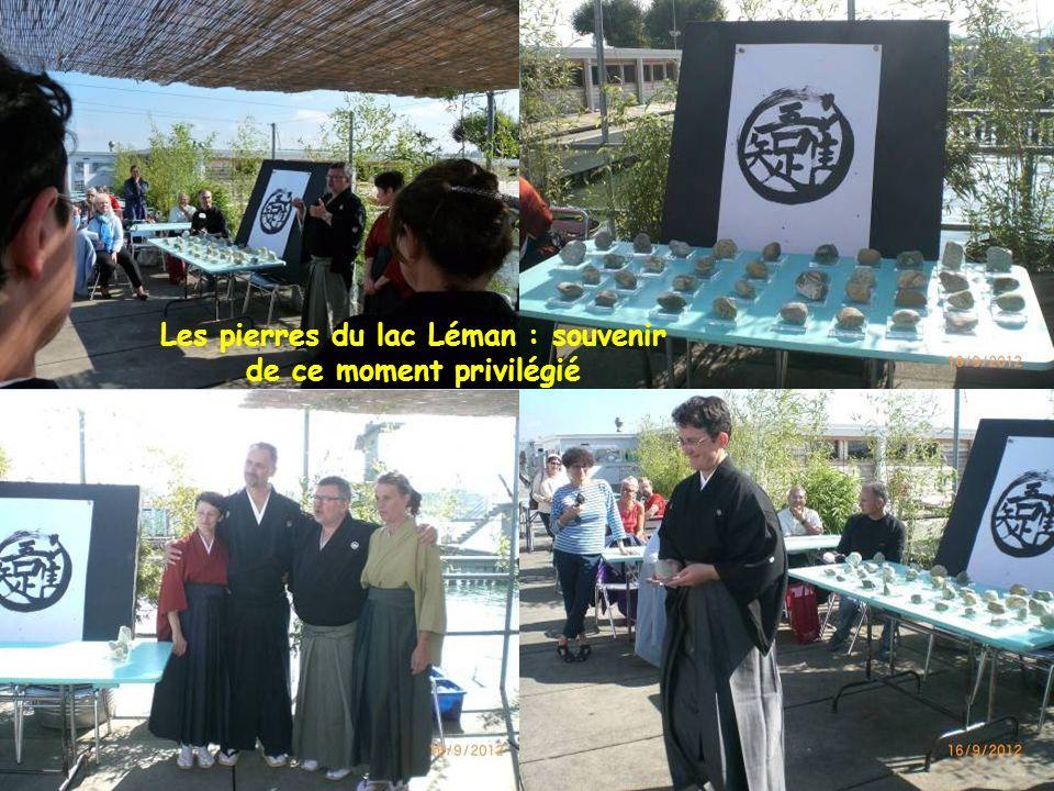 Les pierres du lac Léman : souvenir de ce moment privilégié