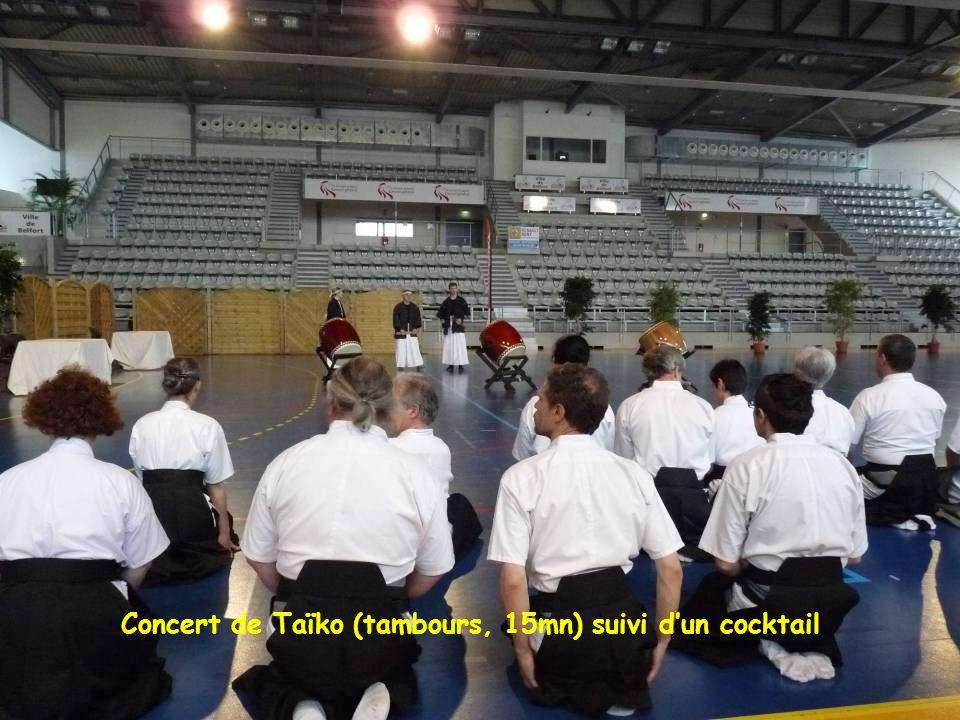Concert de Taïko (tambours, 15mn) suivi d'un cocktail
