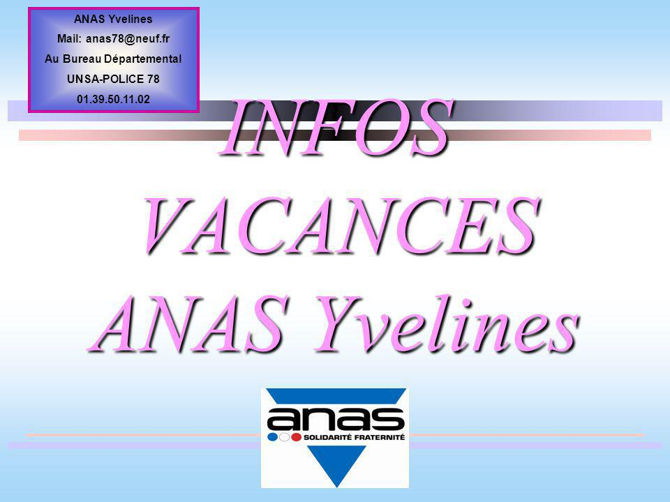 Infos vacances anas yvelines ppt video online t l charger for Vacances yvelines
