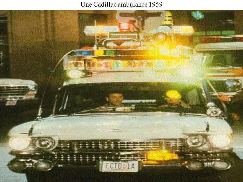 Une Cadillac ambulance 1959
