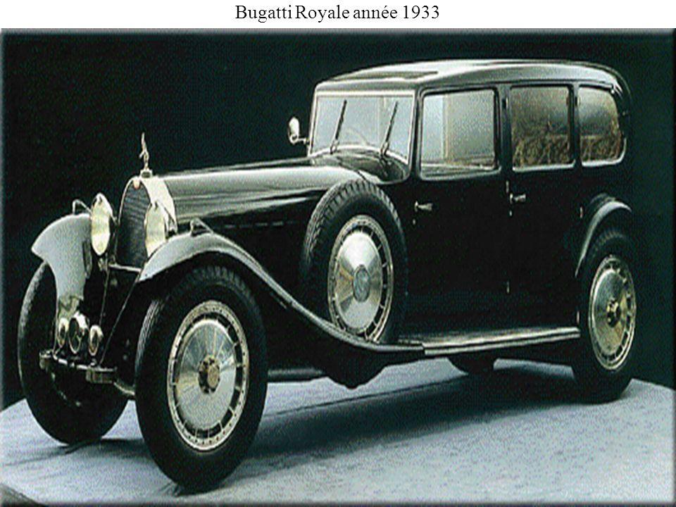Bugatti Royale année 1933