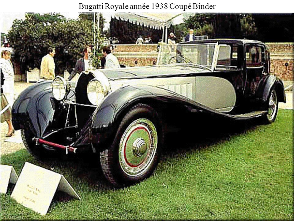 Bugatti Royale année 1938 Coupé Binder