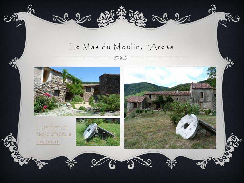 Le Mas du Moulin, l'Arcas
