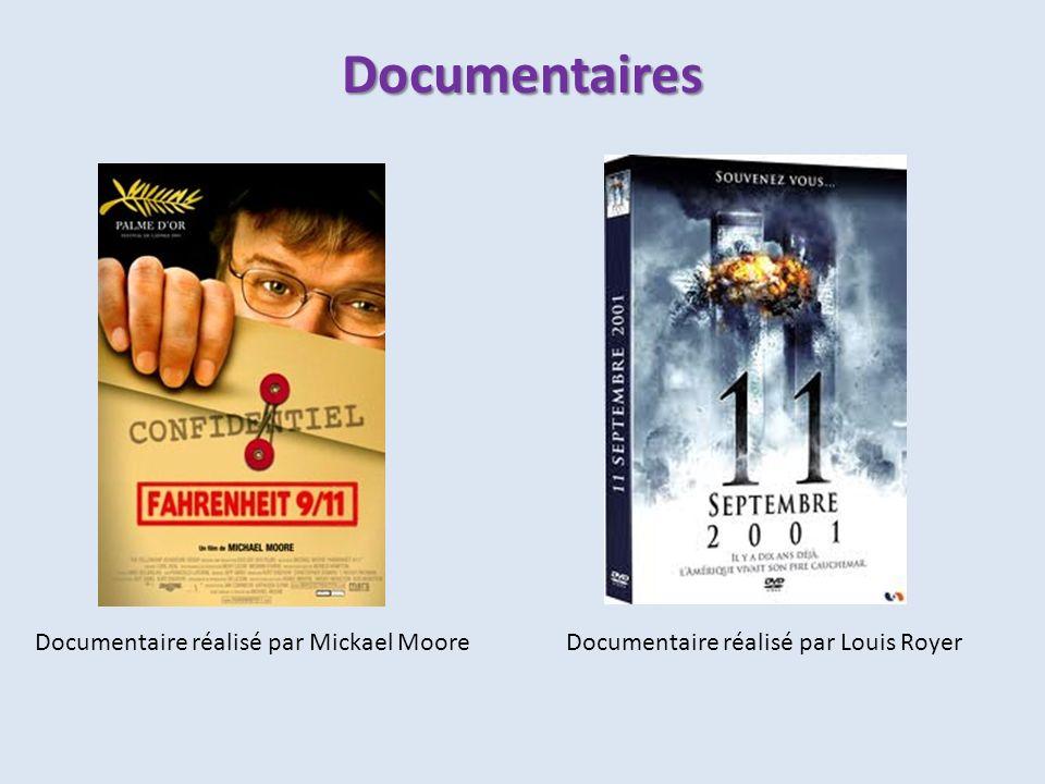Documentaires Documentaire réalisé par Mickael Moore