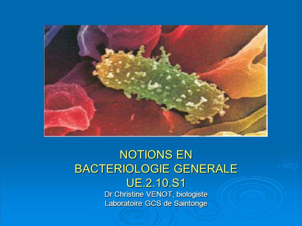 BACTERIOLOGIE GENERALE UE.2.10.S1