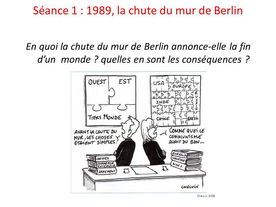 Séance 1 : 1989, la chute du mur de Berlin