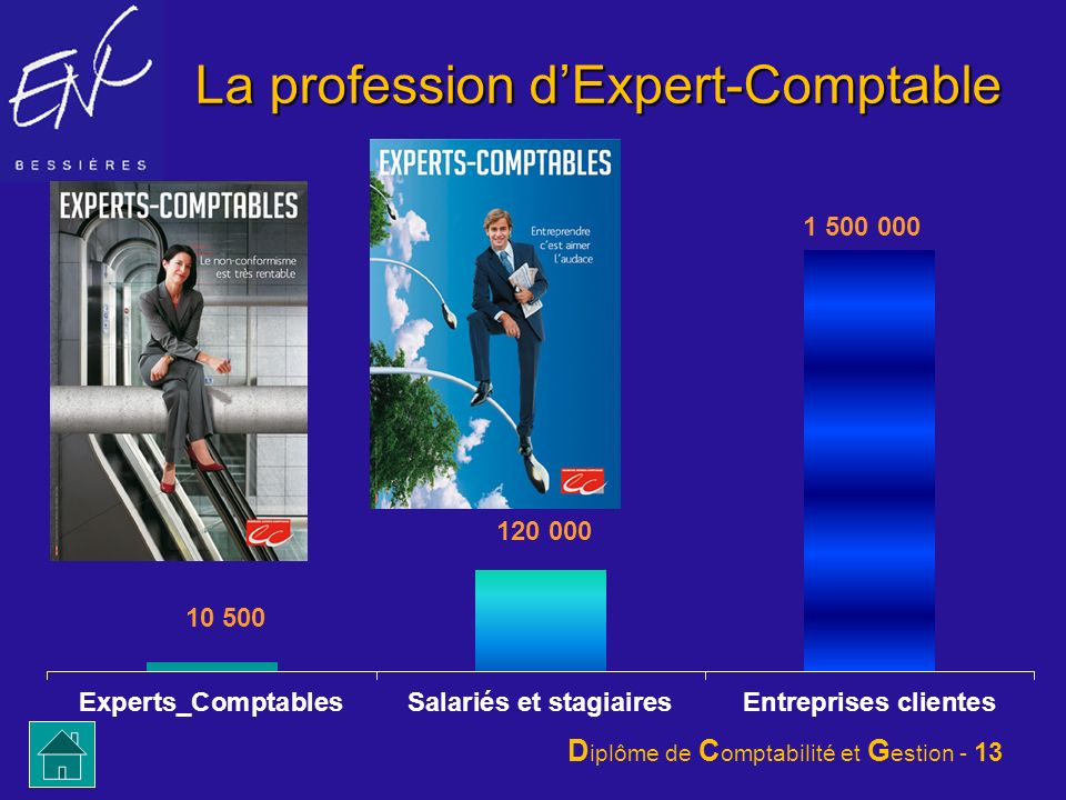 La profession d'Expert-Comptable