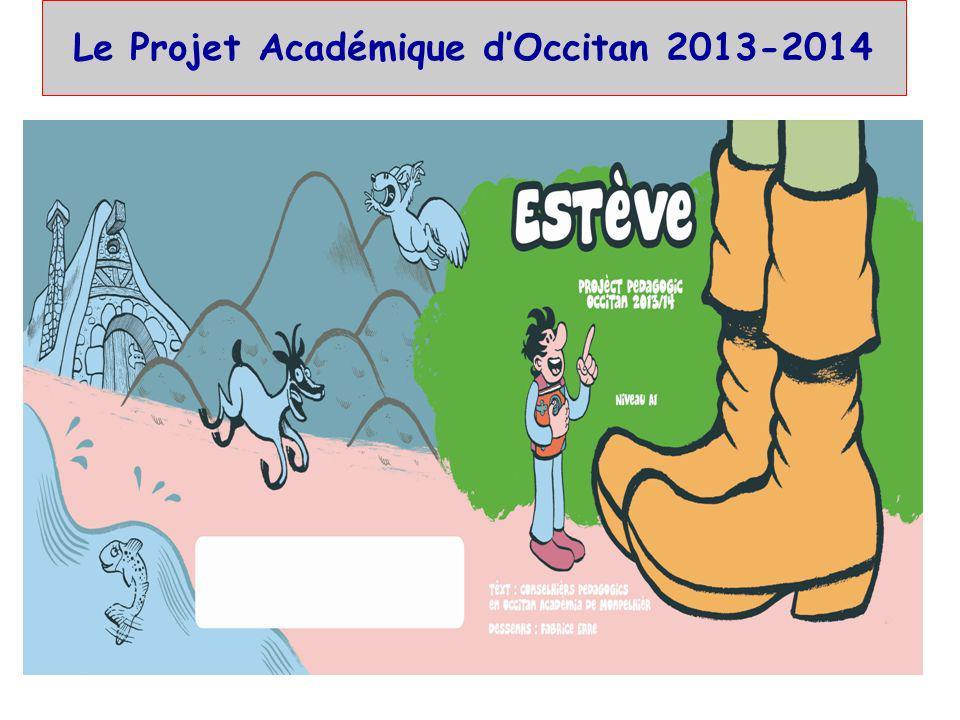 Le Projet Académique d'Occitan 2013-2014
