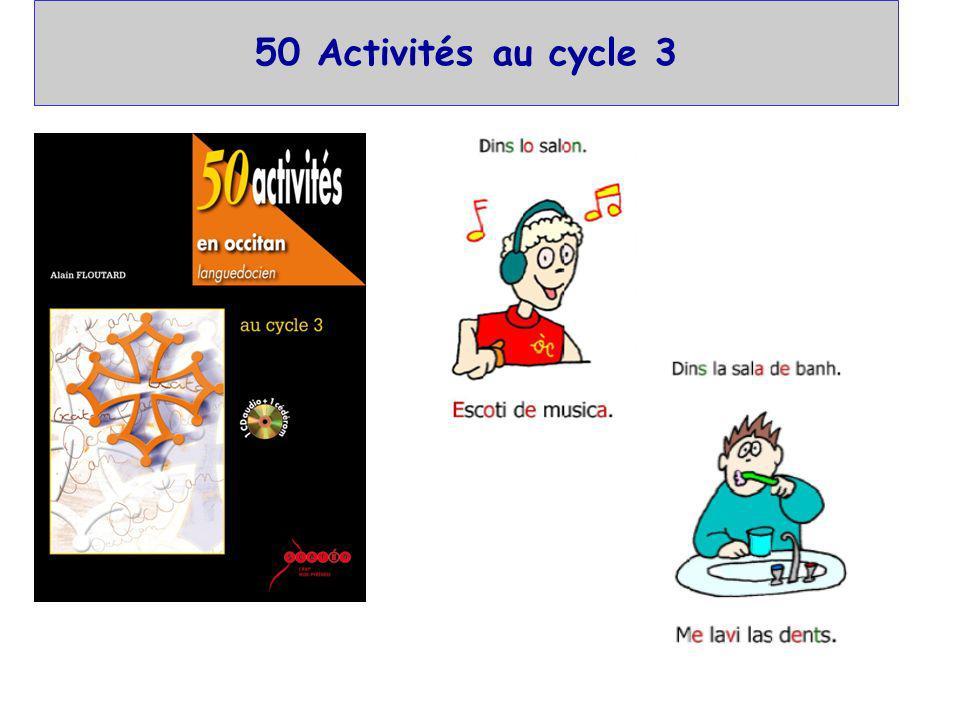 50 Activités au cycle 3