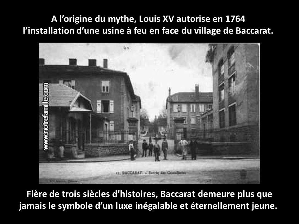 A l'origine du mythe, Louis XV autorise en 1764