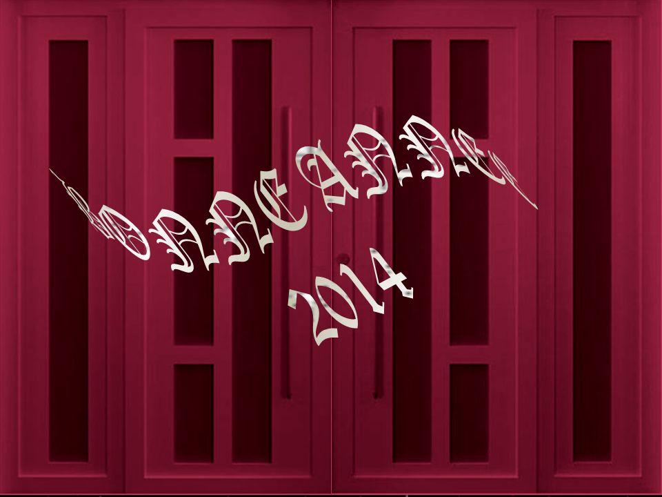 2013 Décembre Et Bienvenue 2014 à Au revoir Février Janvier Mars