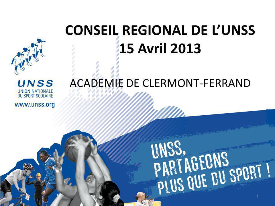 CONSEIL REGIONAL DE L'UNSS