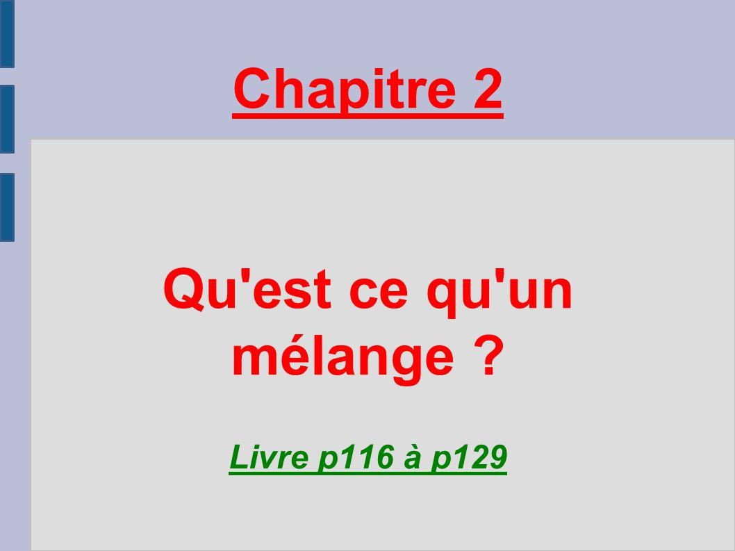 chapitre 2 qu 39 est ce qu 39 un m lange livre p116 p ppt video online t l charger. Black Bedroom Furniture Sets. Home Design Ideas