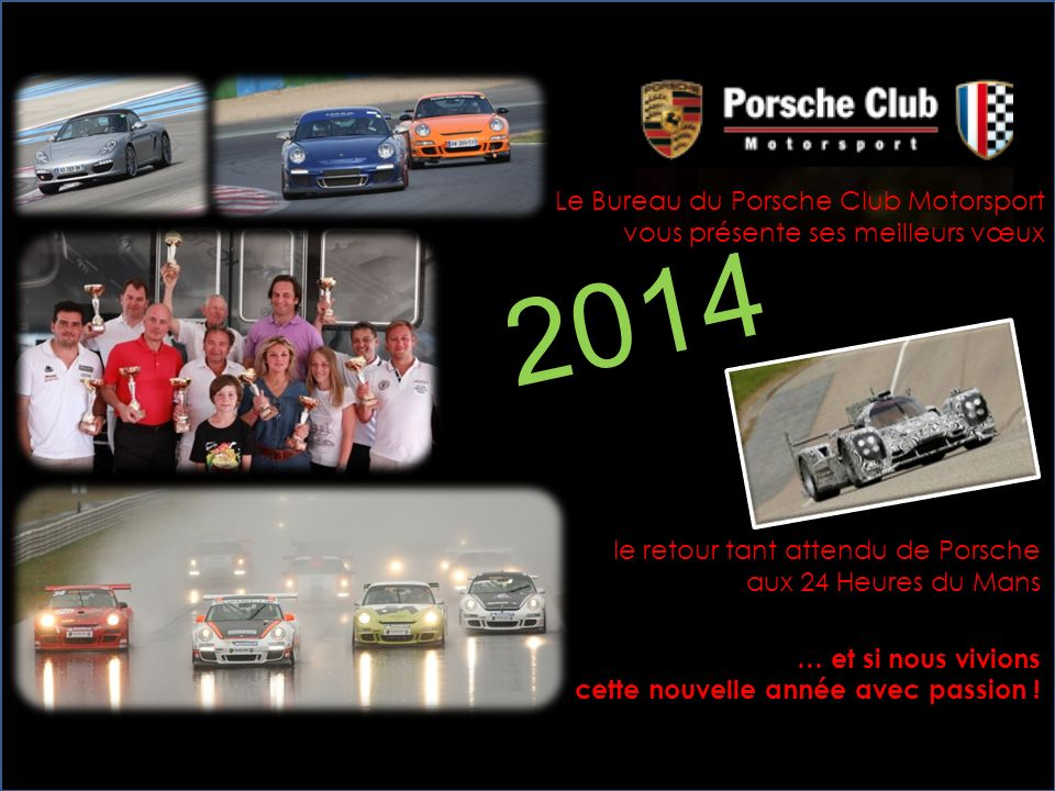 2014 Le Bureau du Porsche Club Motorsport