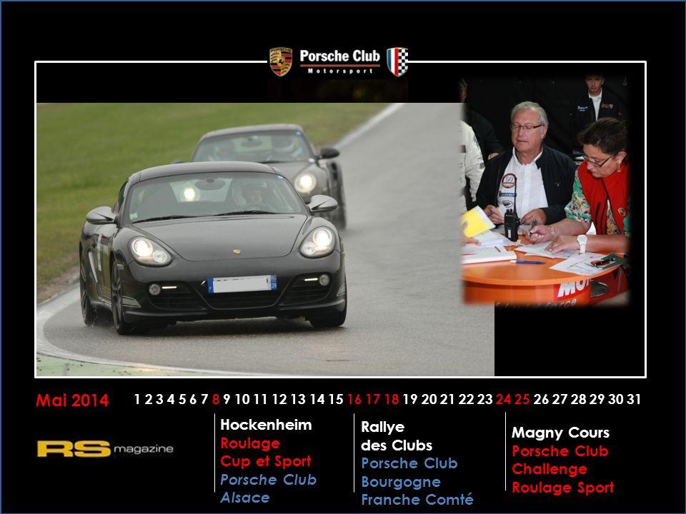 Mai 2014 Hockenheim Rallye des Clubs Porsche Club Bourgogne