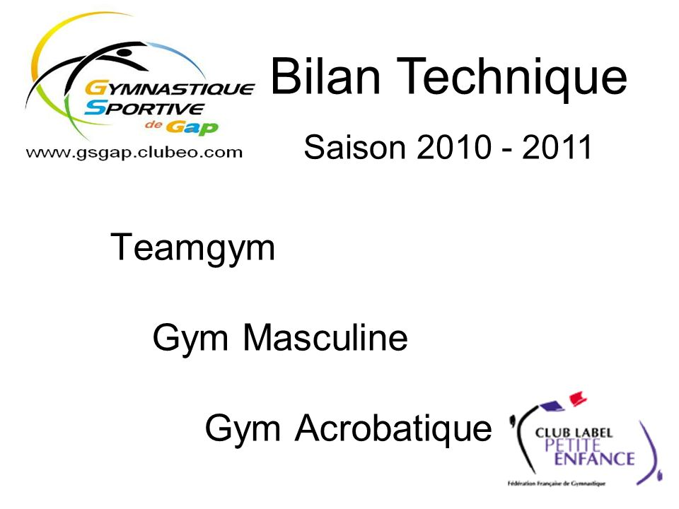 Teamgym Gym Masculine Gym Acrobatique