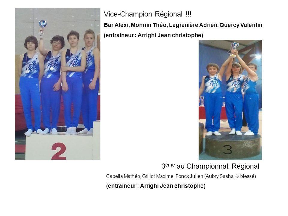 Vice-Champion Régional !!!
