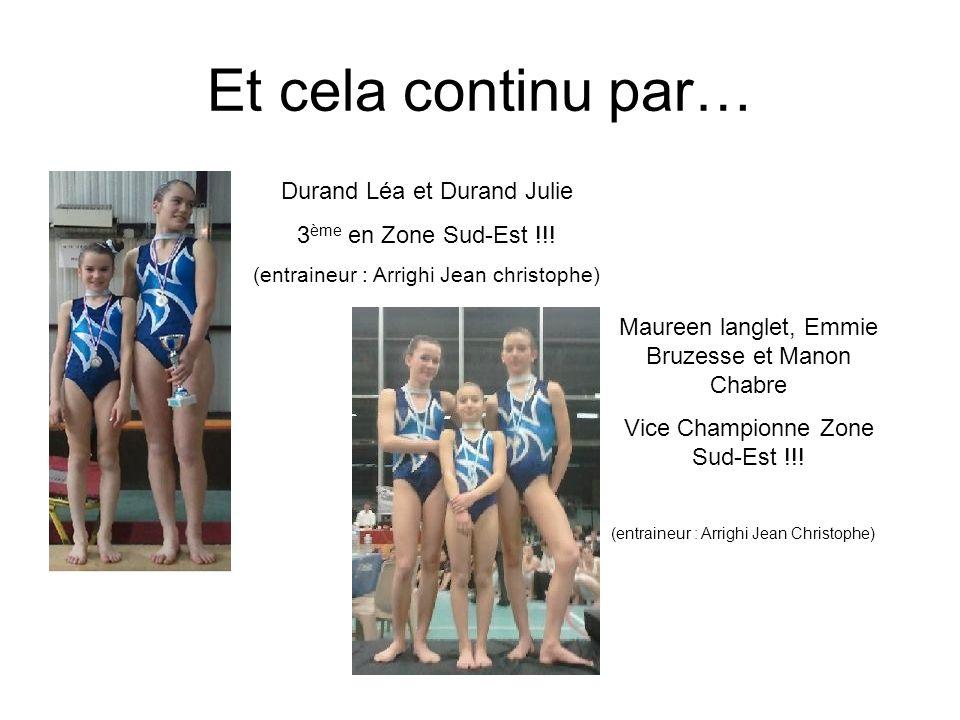 Et cela continu par… Durand Léa et Durand Julie