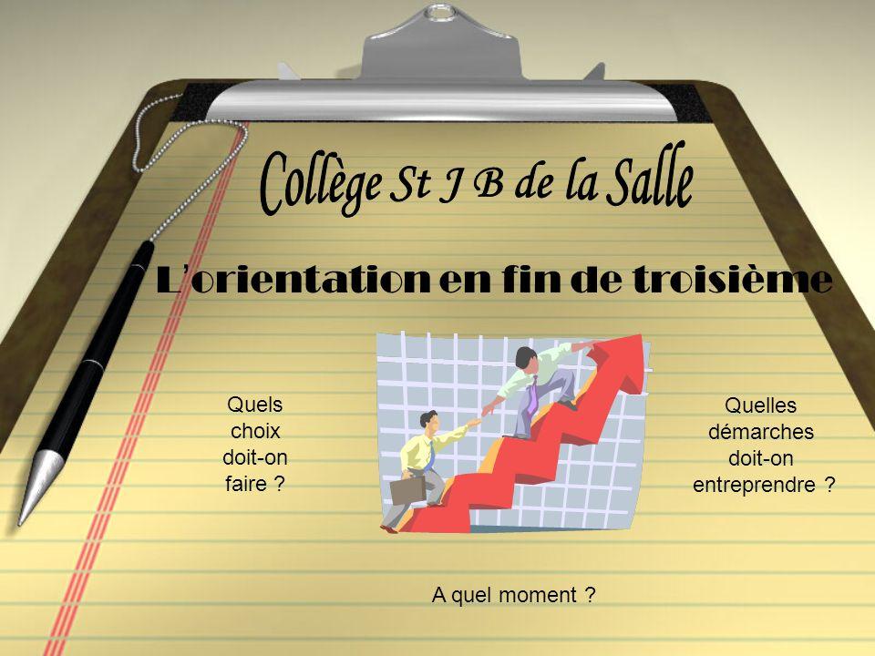 Collège St J B de la Salle