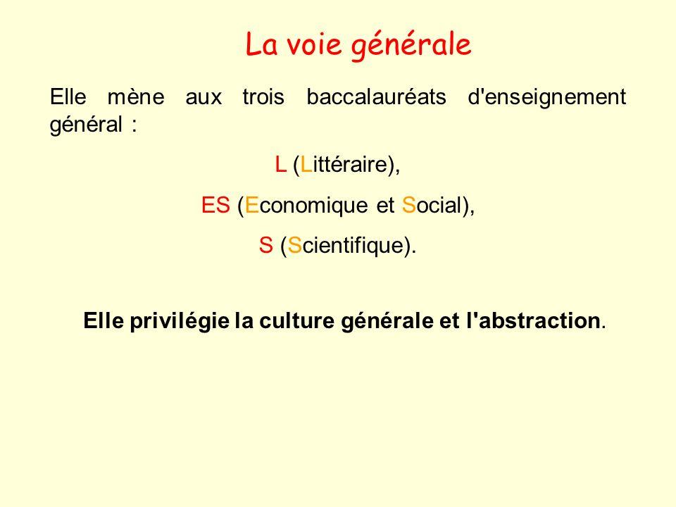 ES (Economique et Social),