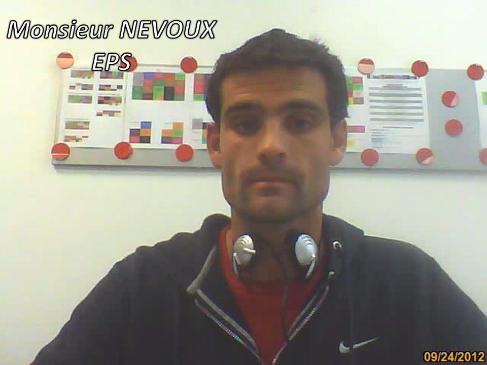 Monsieur NEVOUX EPS