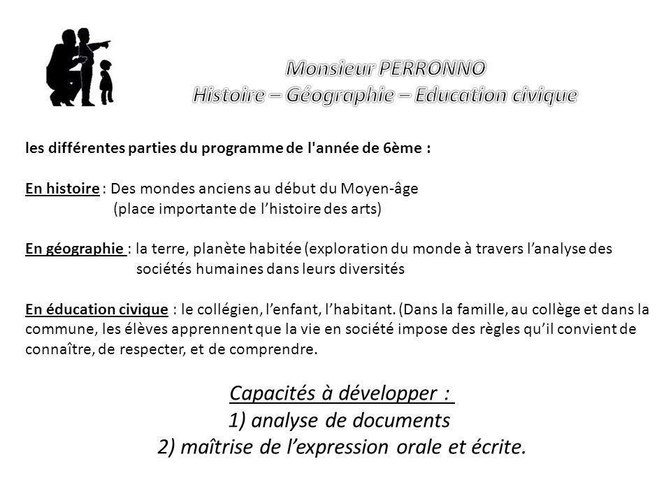 Histoire – Géographie – Education civique