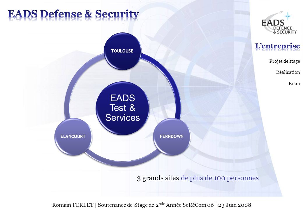 EADS Defense & Security