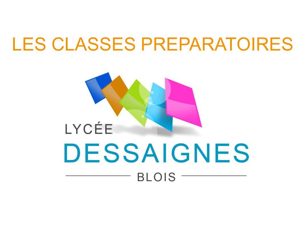 LES CLASSES PREPARATOIRES