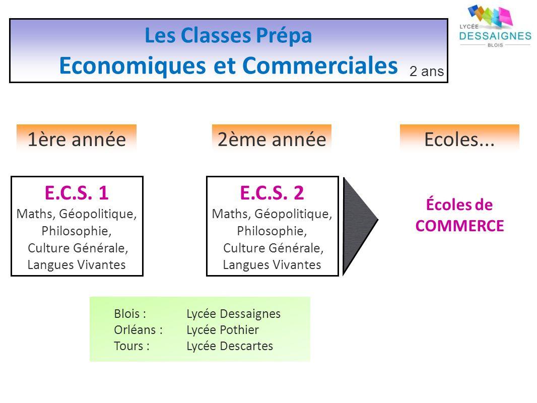 Economiques et Commerciales