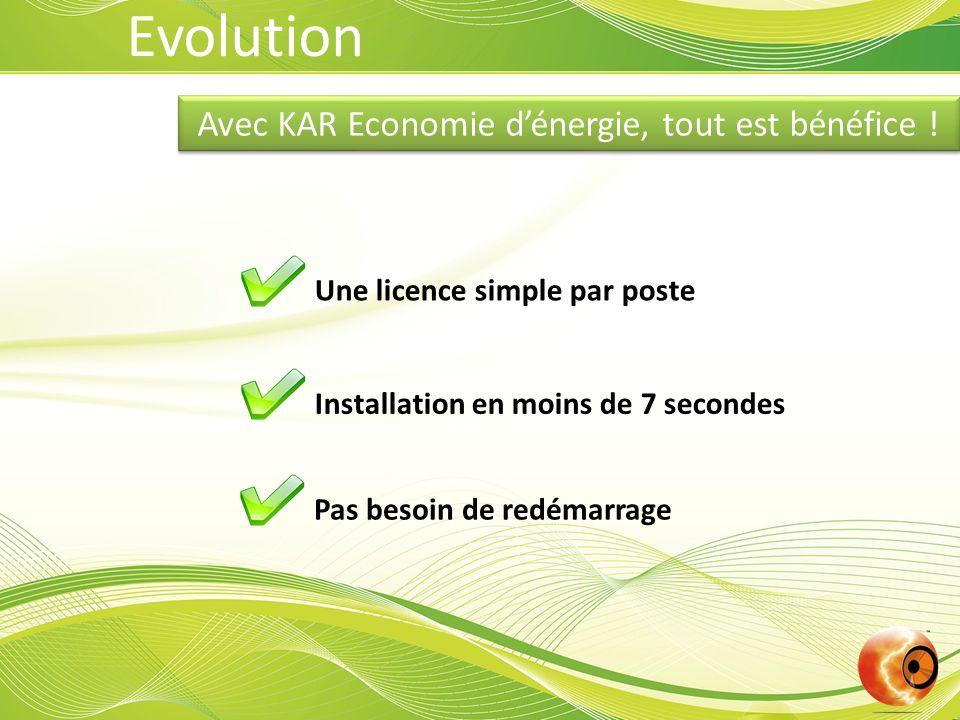 Avec KAR Economie d'énergie, tout est bénéfice !