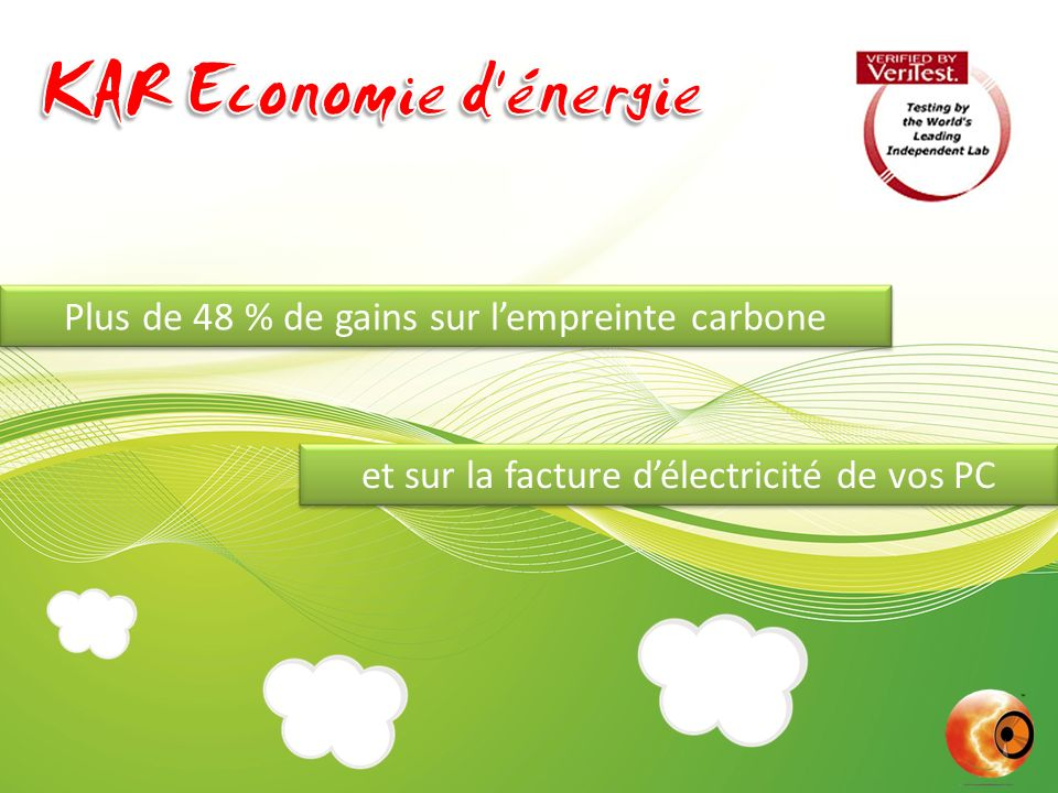 Plus de 48 % de gains sur l'empreinte carbone