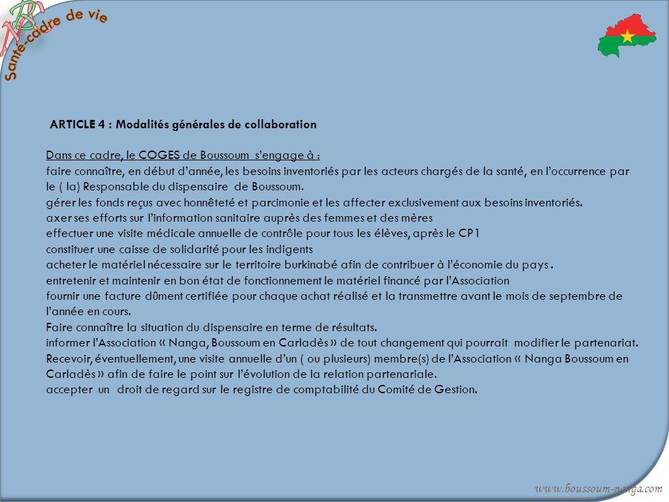 C B. N. Santé-cadre de vie.