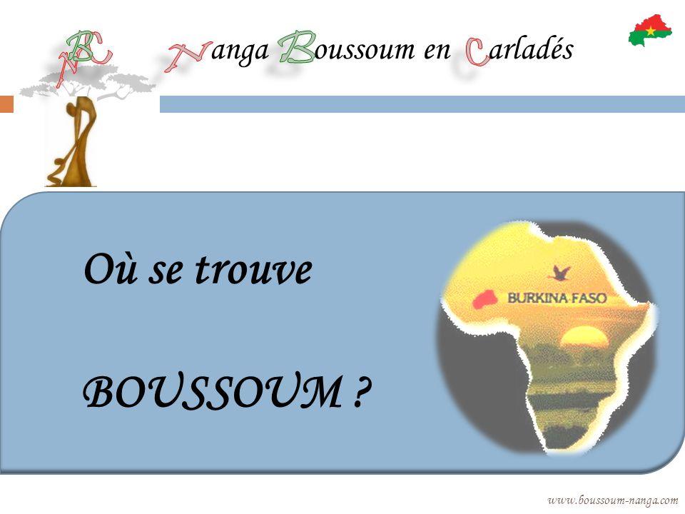 Où se trouve BOUSSOUM anga oussoum en arladés B B C C N N