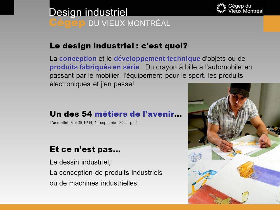 Le design industriel : c'est quoi