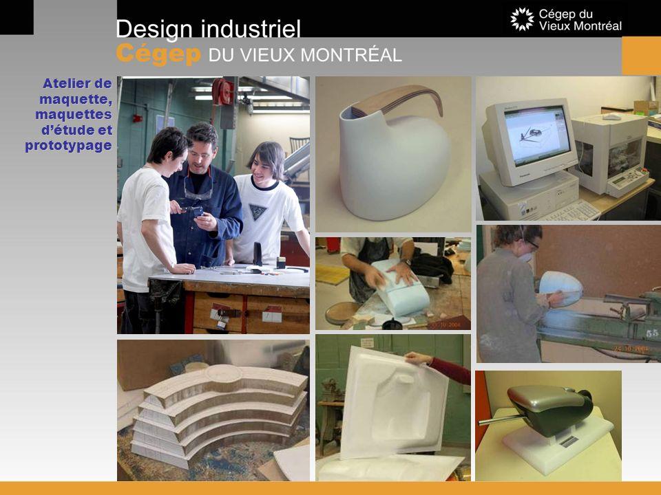 Atelier de maquette, maquettes d'étude et prototypage