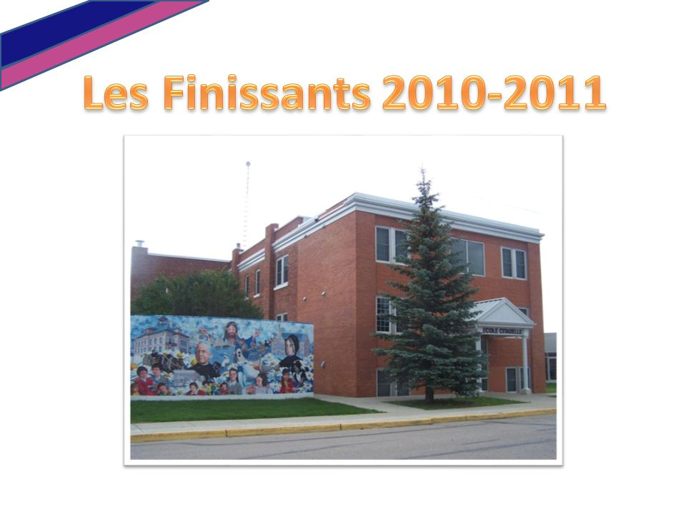 Les Finissants 2010-2011