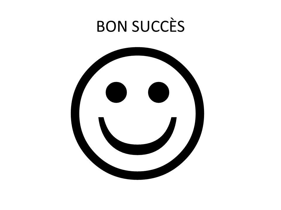 BON SUCCÈS  Fait par: Jennifer Ménard