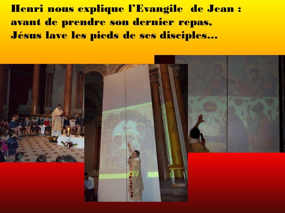 Henri nous explique l'Evangile de Jean :