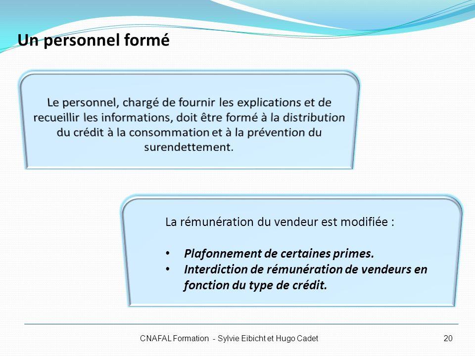 CNAFAL Formation - Sylvie Eibicht et Hugo Cadet