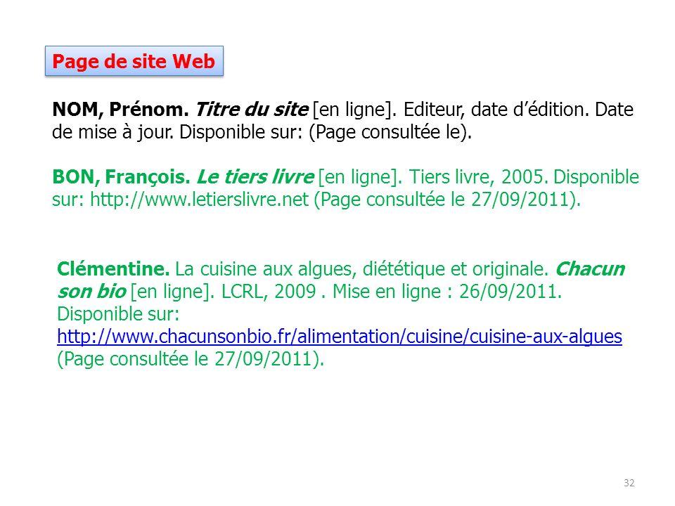 27/09/2011 Page de site Web.