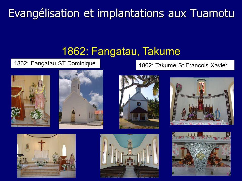 Evangélisation et implantations aux Tuamotu