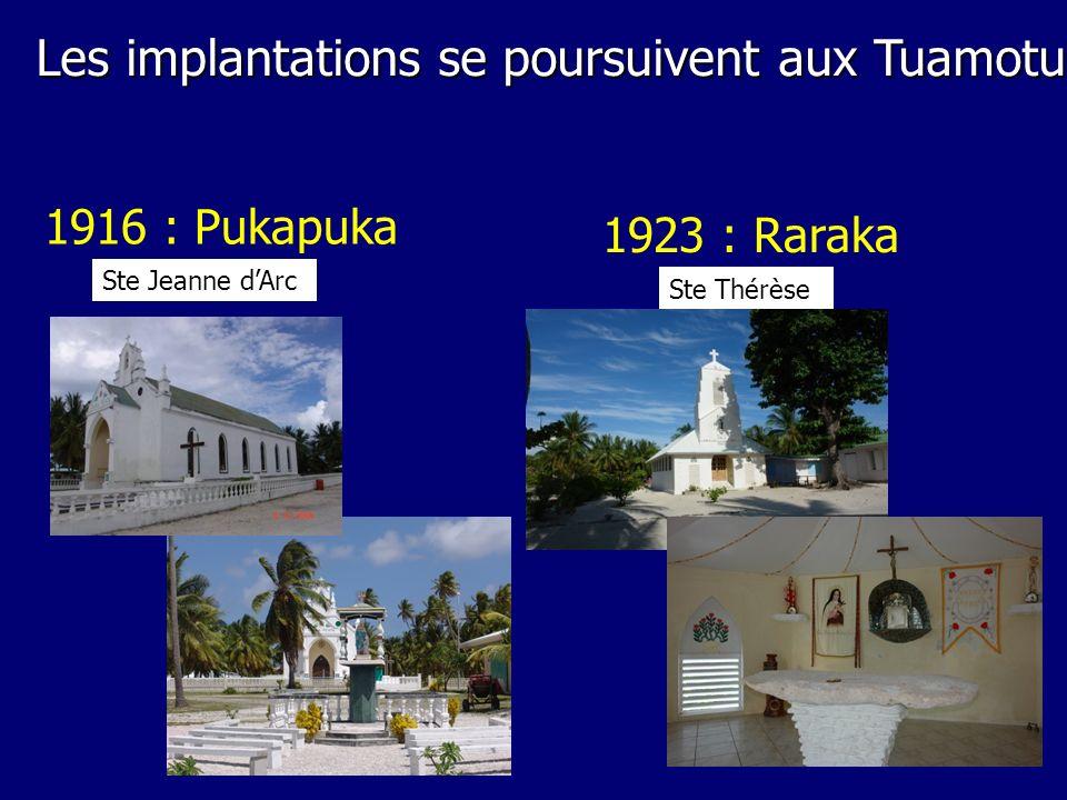 Les implantations se poursuivent aux Tuamotu
