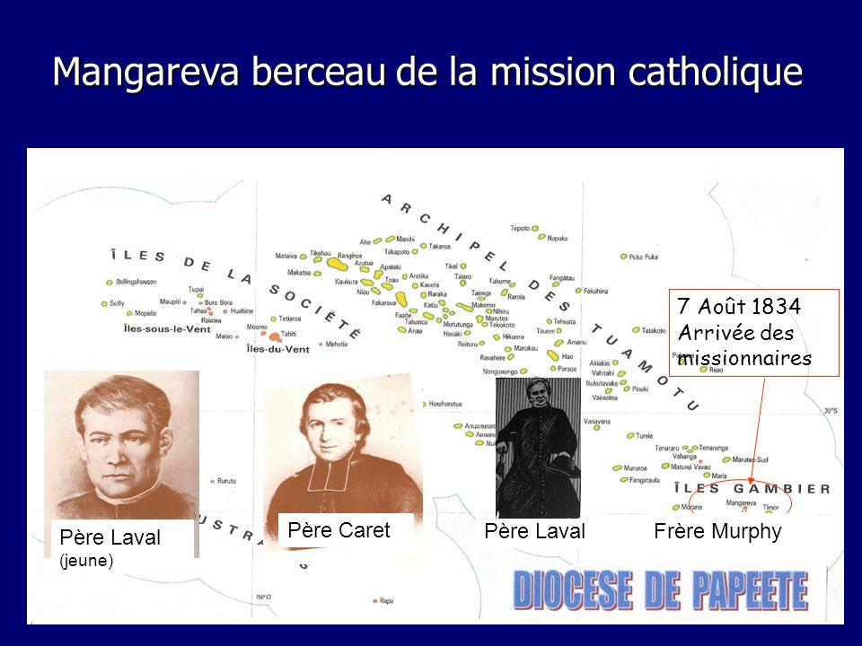Mangareva berceau de la mission catholique
