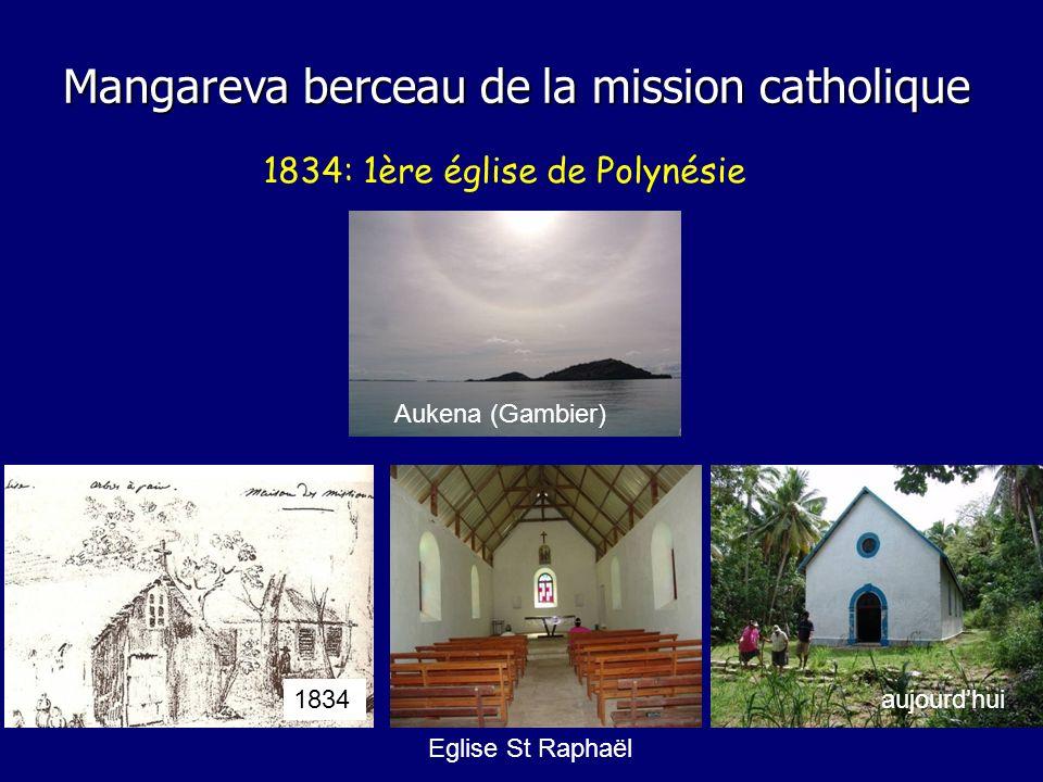 1834: 1ère église de Polynésie